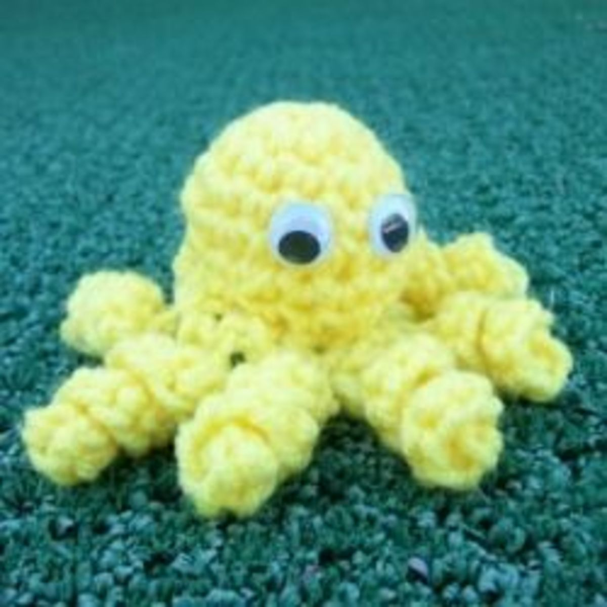 Handmade in Crochet Baby Octopus