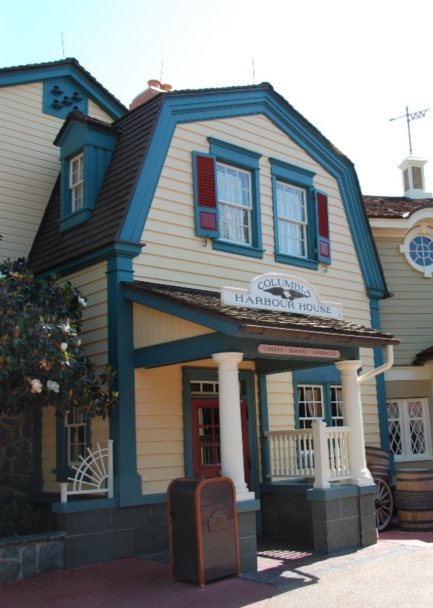 Columbia Harbour House at Magic Kingdom Photo