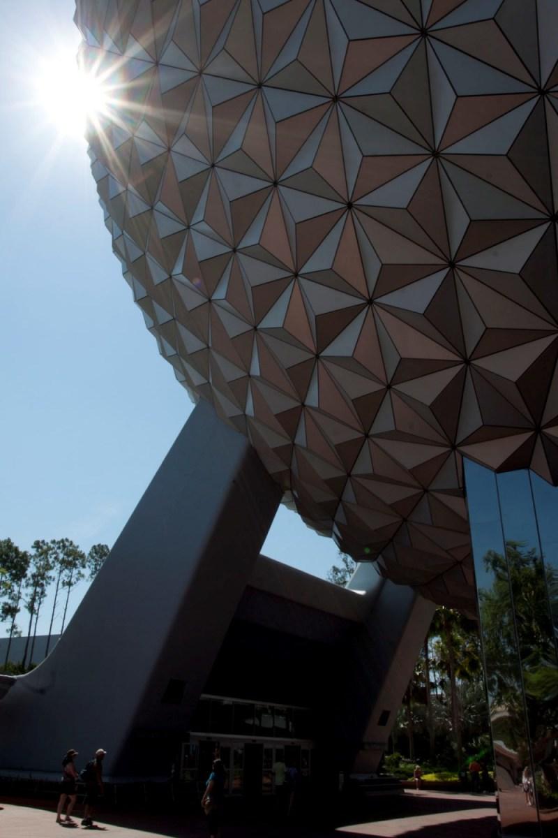 Epcot Theme Park at Walt Dsiney Theme Park in Orlando, FL.
