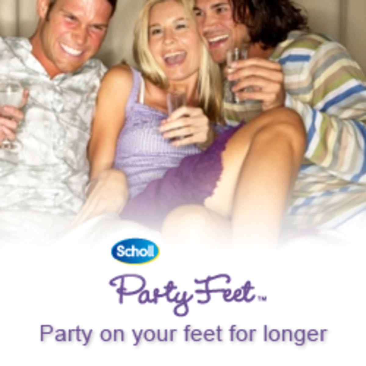 Dr. Scholl, the party people