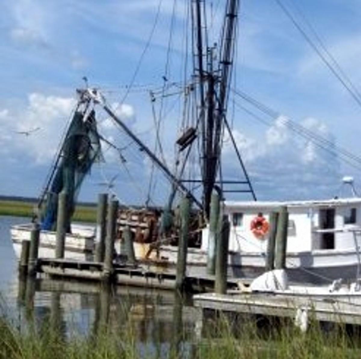 Shrimp Boats