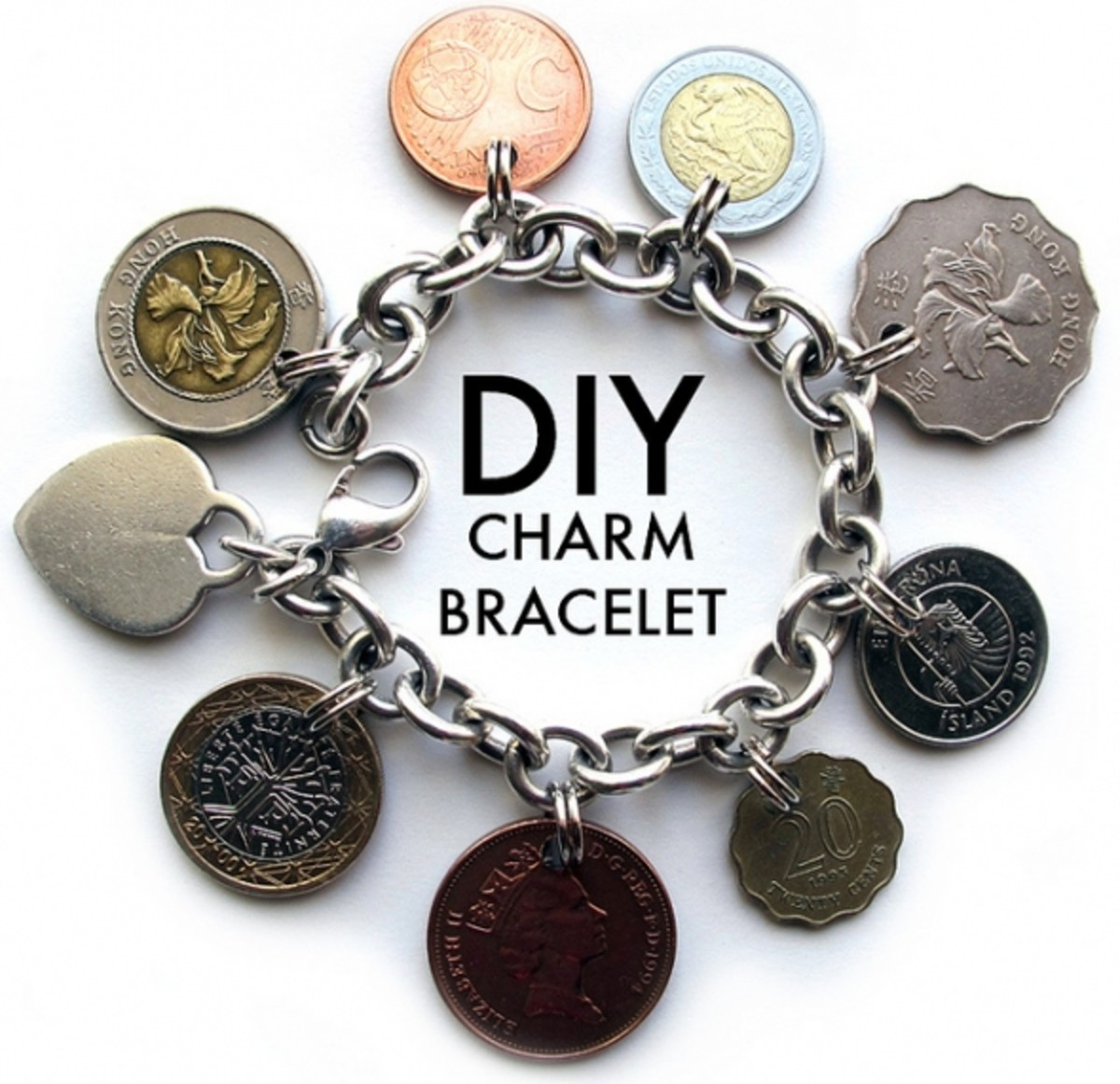 Make Your Own Charm Bracelets: How To Make Your Own Jewelry