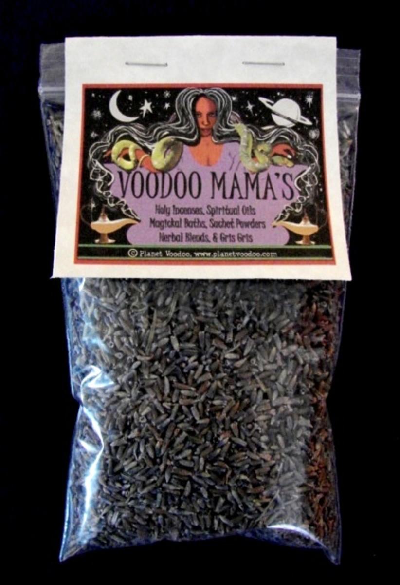 Voodoo Mama's Lavender Flowers