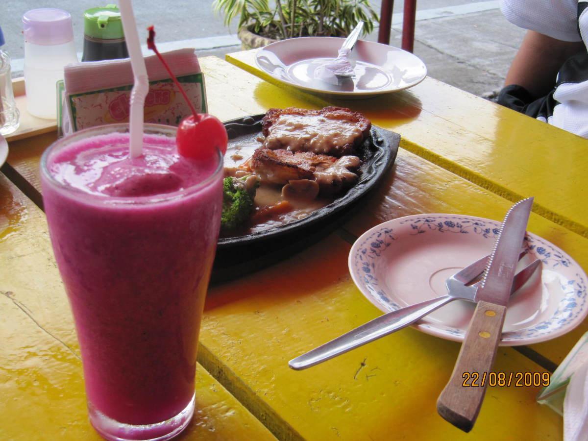 Dragonfruit shake