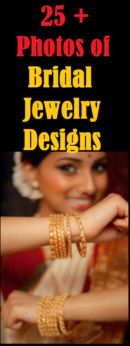 25 + photos of bridal jewellery designs - bangles and churis