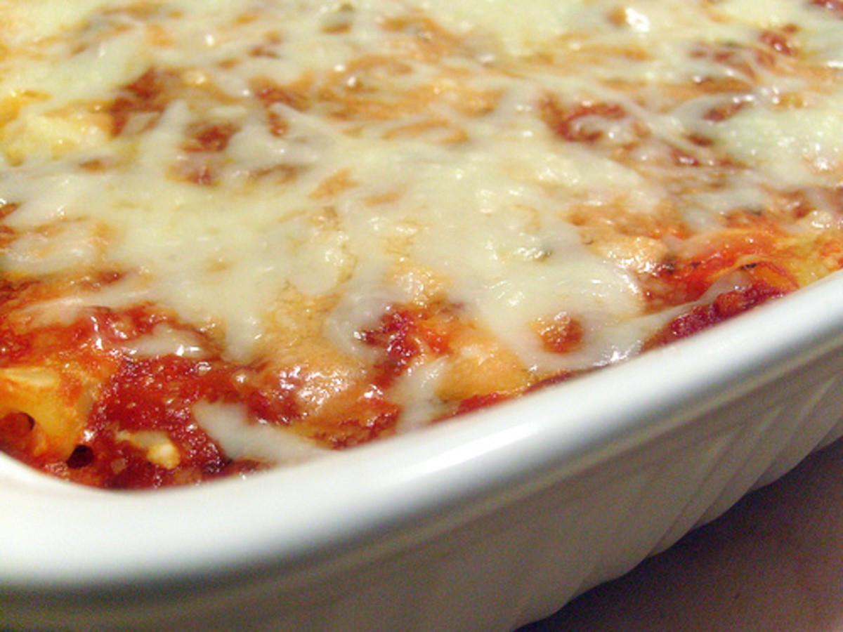 Easy Dinner Recipes - Baked Ziti