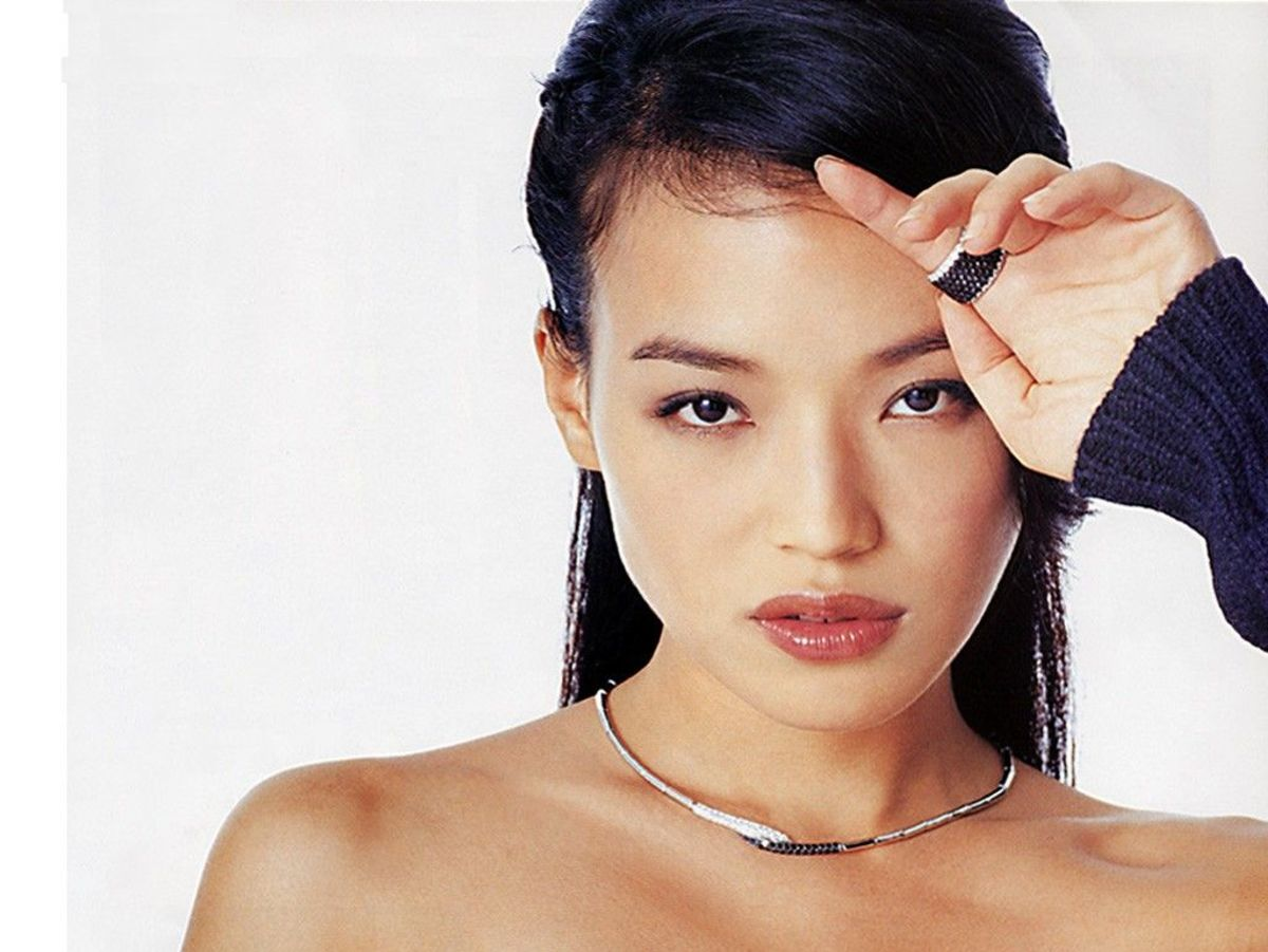 Beautiful Chinese actress Shu Qi