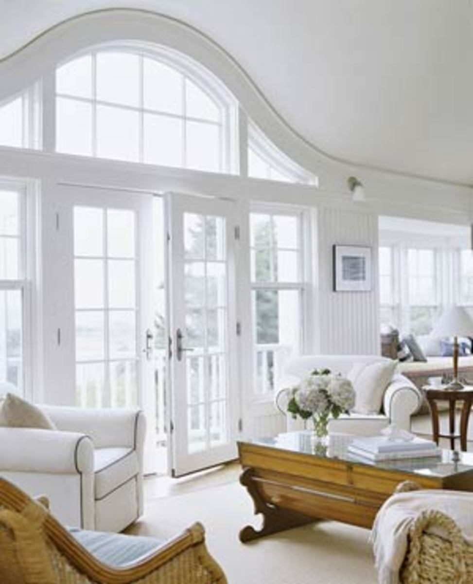 Home improvement i love eyebrow windows and arches great for Replacement window design ideas