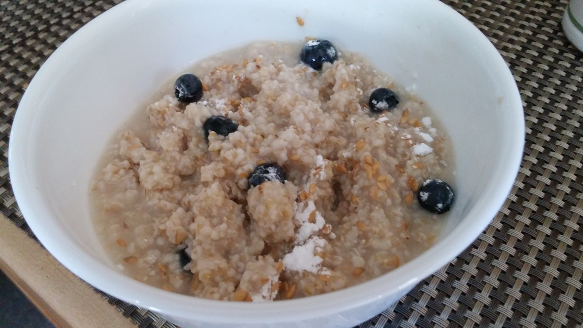 Low in fat, high in fiber and iron, oatmeal may also lower your cholesterol.