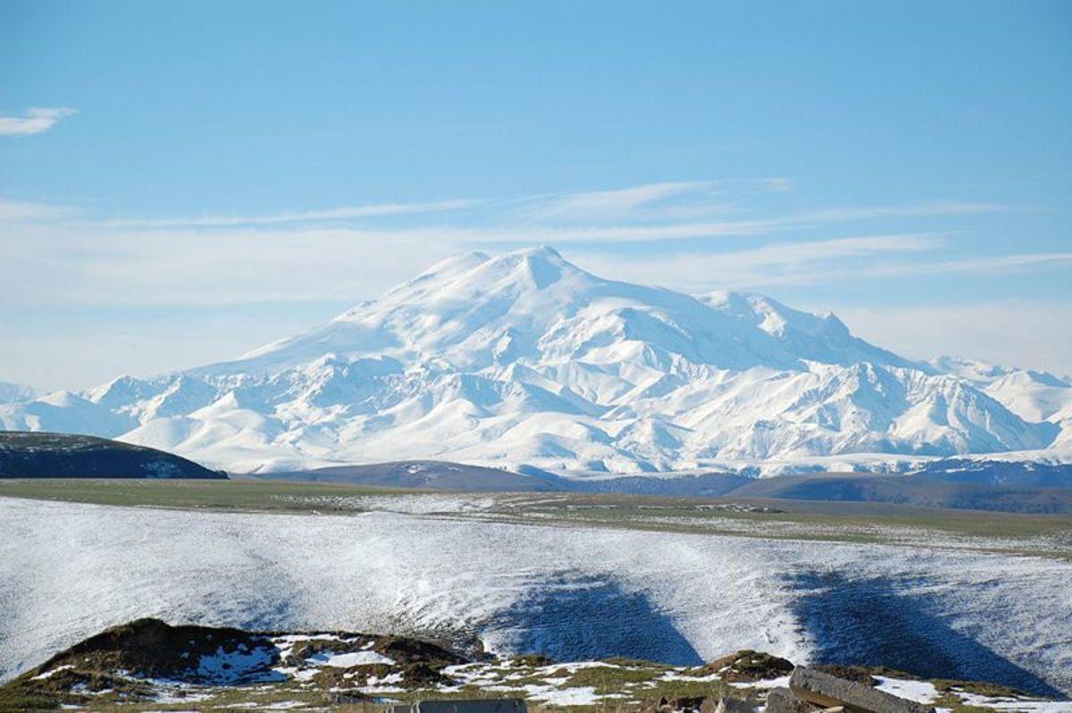 Mount Elbrus, Image Credit: JukoFF, Wikimedia Commons.