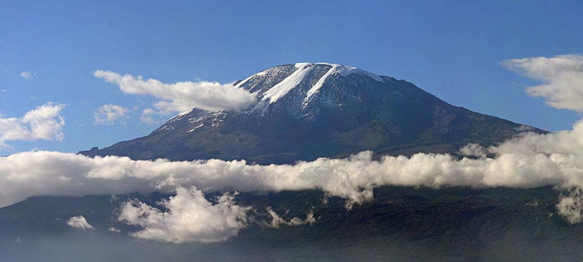 Mount Kilimanjaro, Image Credit: Muhammad Mahdi Karim - www.micro2macro.net , Wikimedia Commons