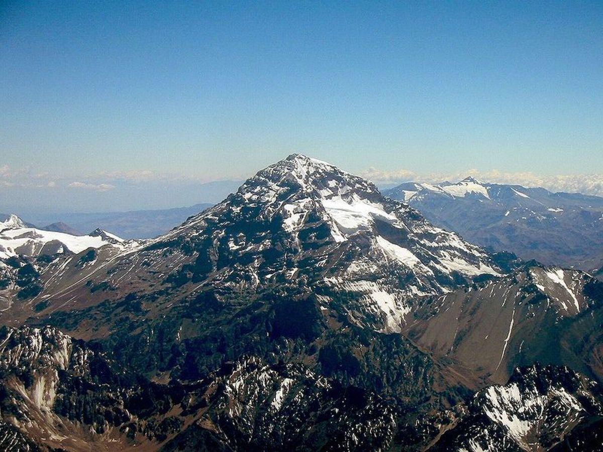 Mount Cerro Aconcagua - Image Credit: Sergio Schmiegelow, Wikipedia Commons