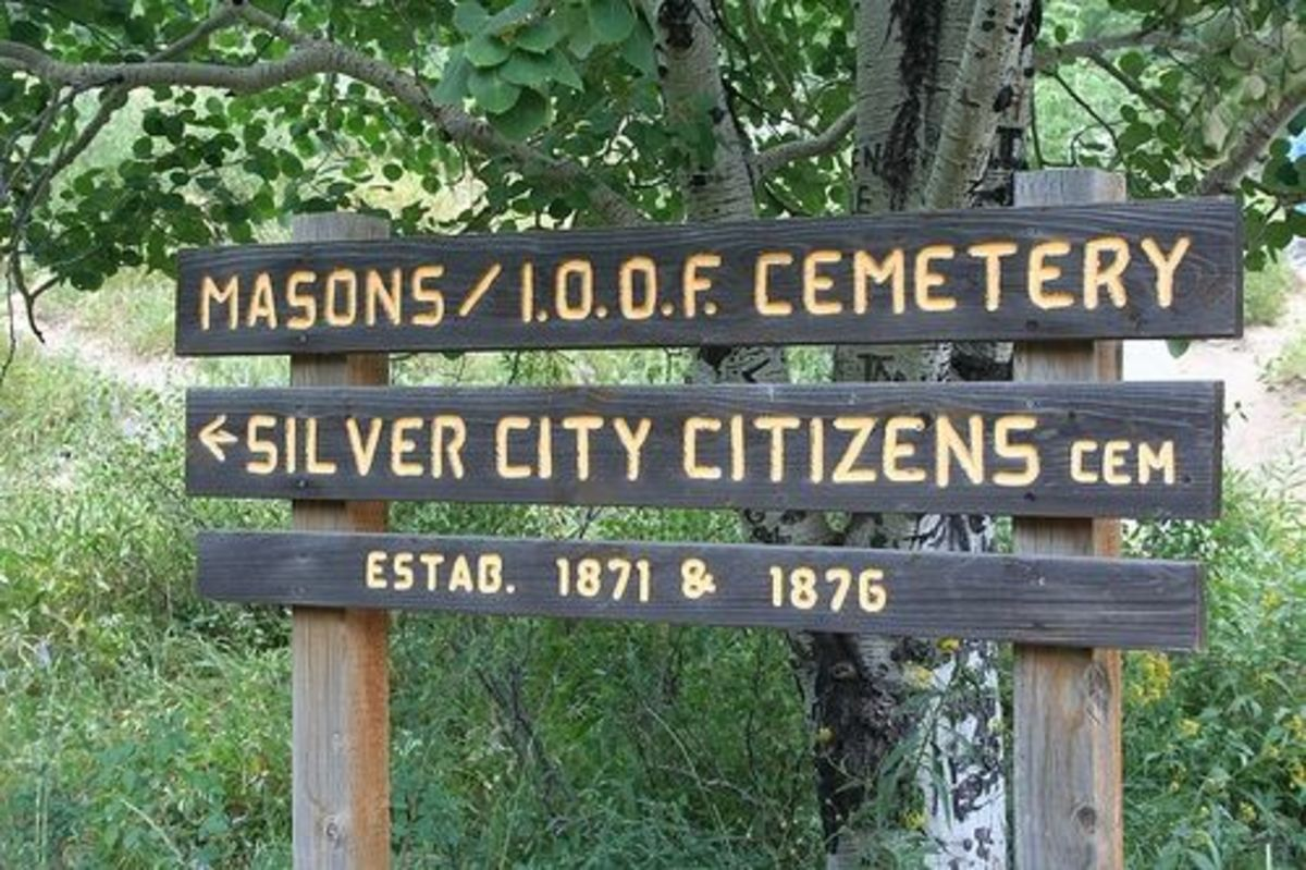 Silver City Citizens Masons I.O.O.F. Cemetery in Idaho