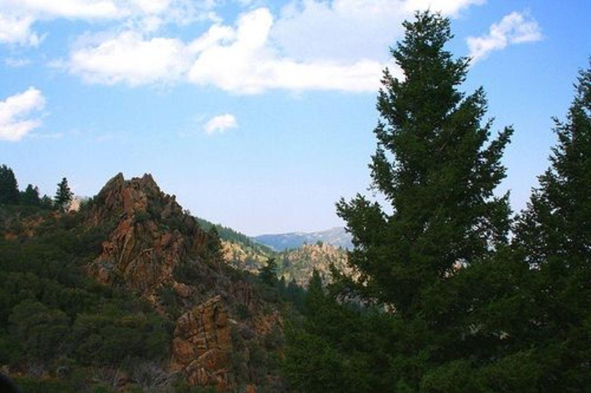 The Views from Jordan Valley to Silver City Idaho