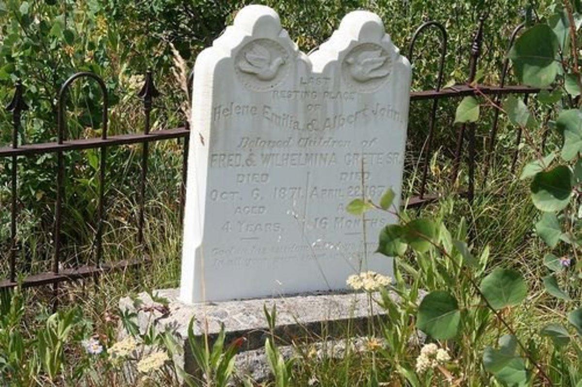 Last Resting Place of Helene Emilia & Albert John