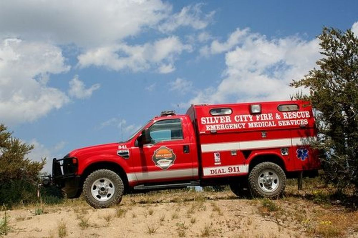 Silver City Fire and Rescue Truck