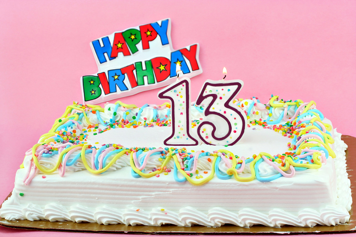 Happy Birthday to those born on the 13th of the month