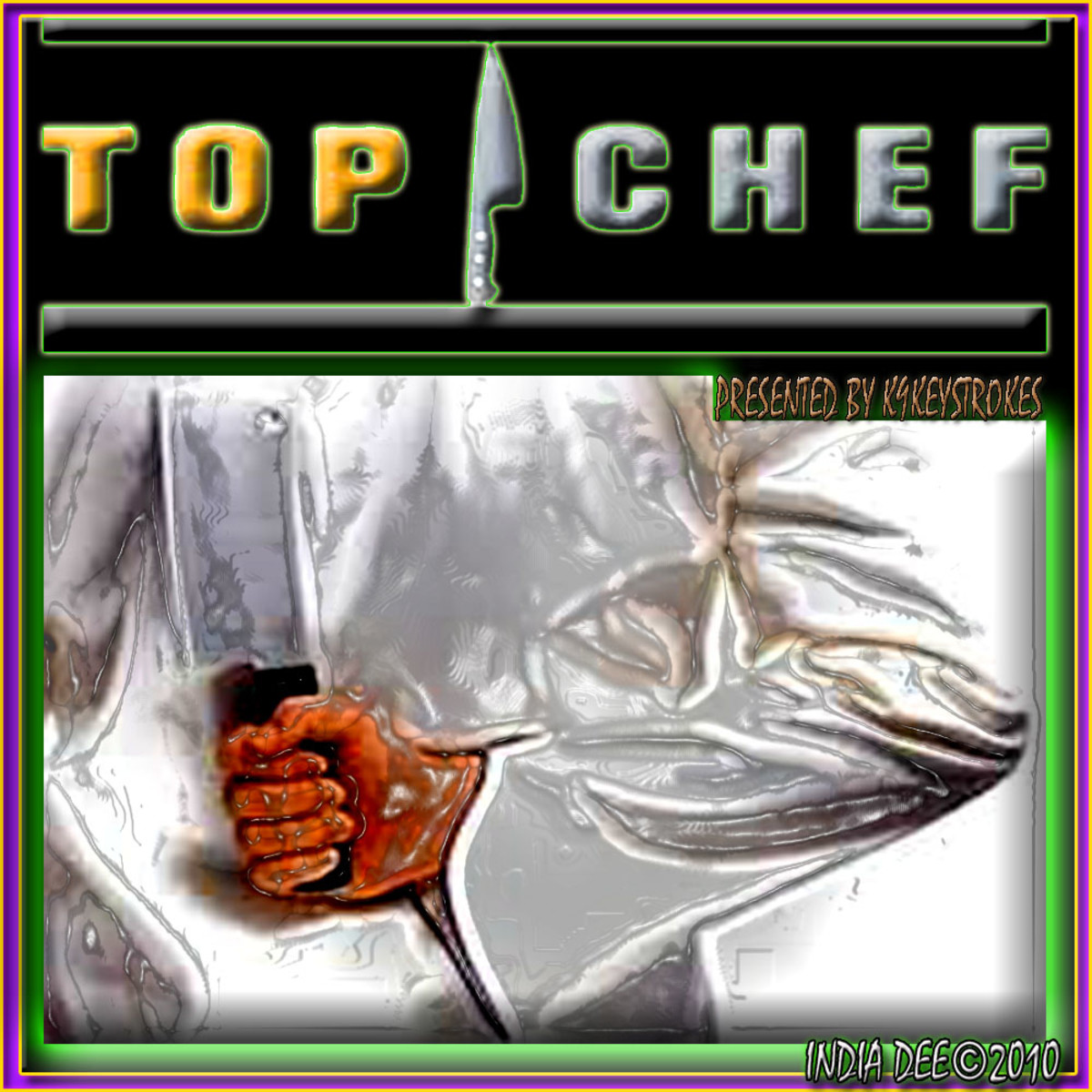 Unique Top Chef Logo Design