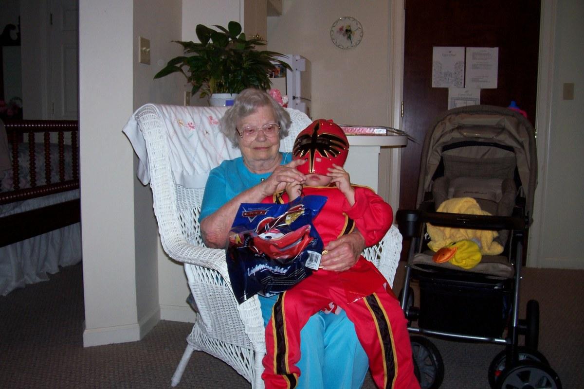Mom's last Halloween.