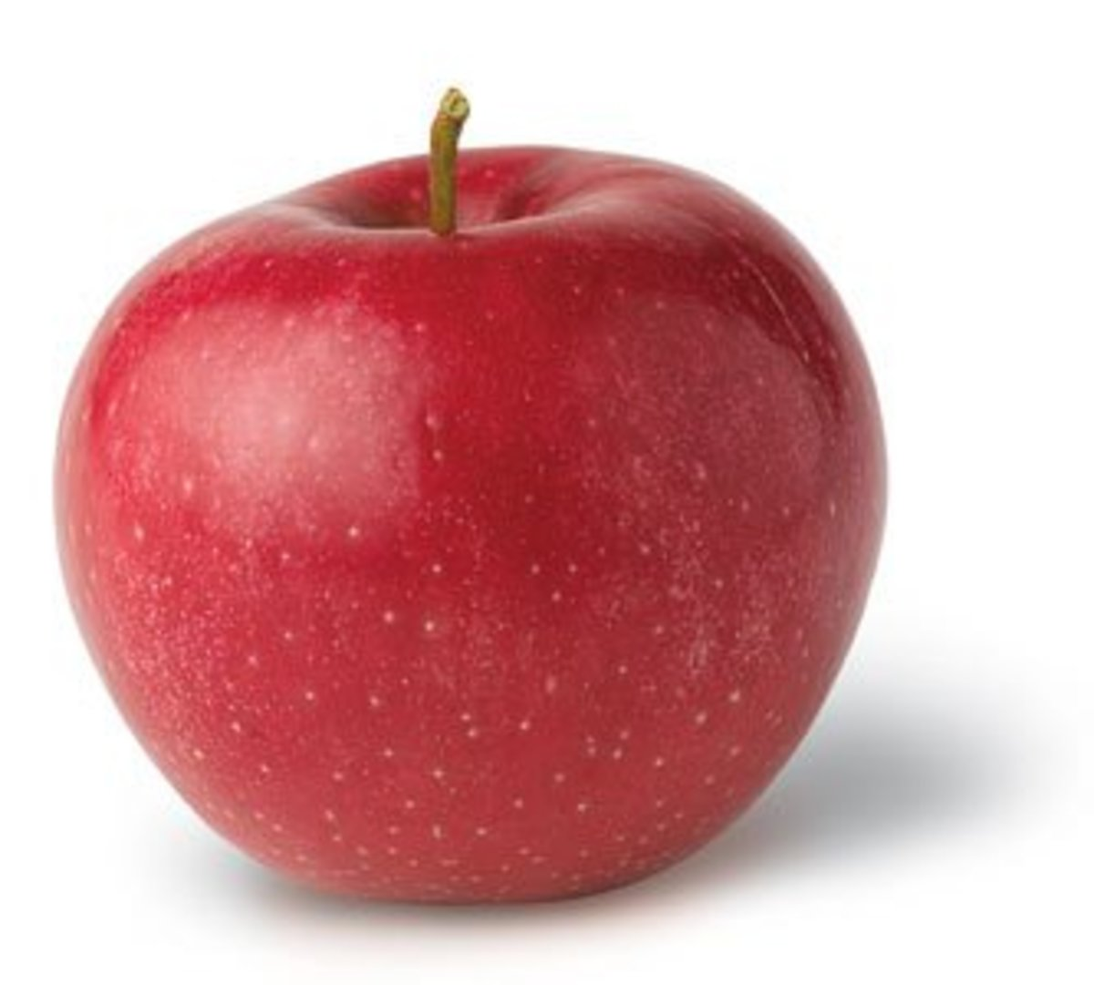 Round Red Apple