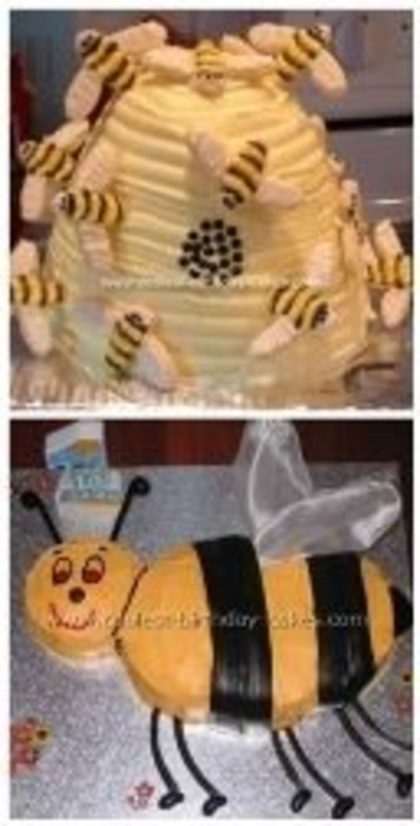 Bee Cake Choices