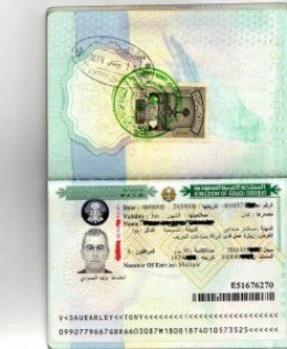 Saudi Business Visa