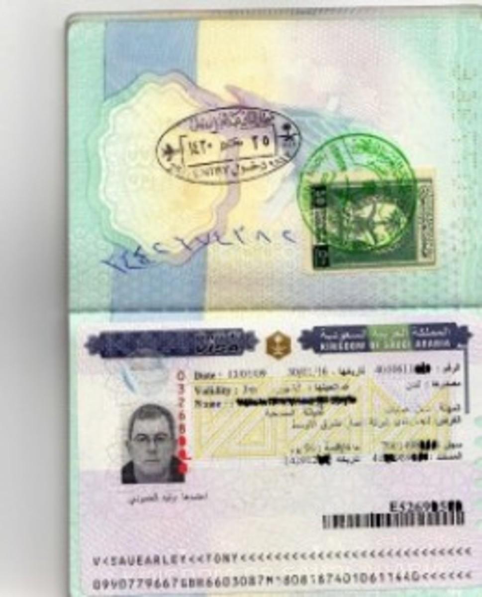 Saudi Work Visa