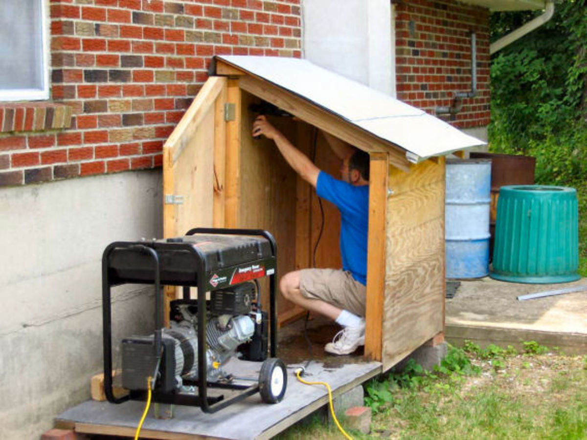 How to Build a Generator Enclosure