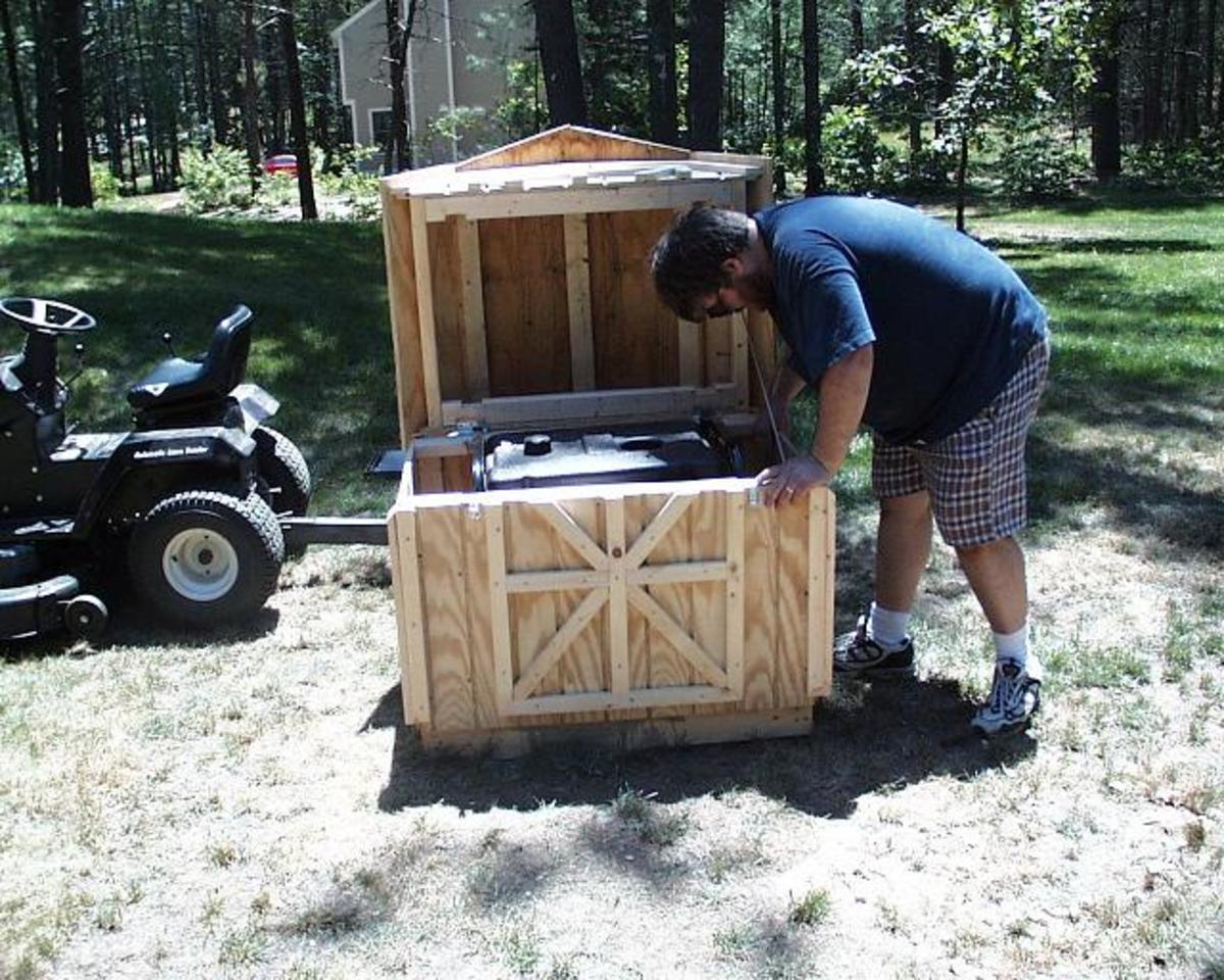 How To Build A Soundproof Generator Shed High Achievement