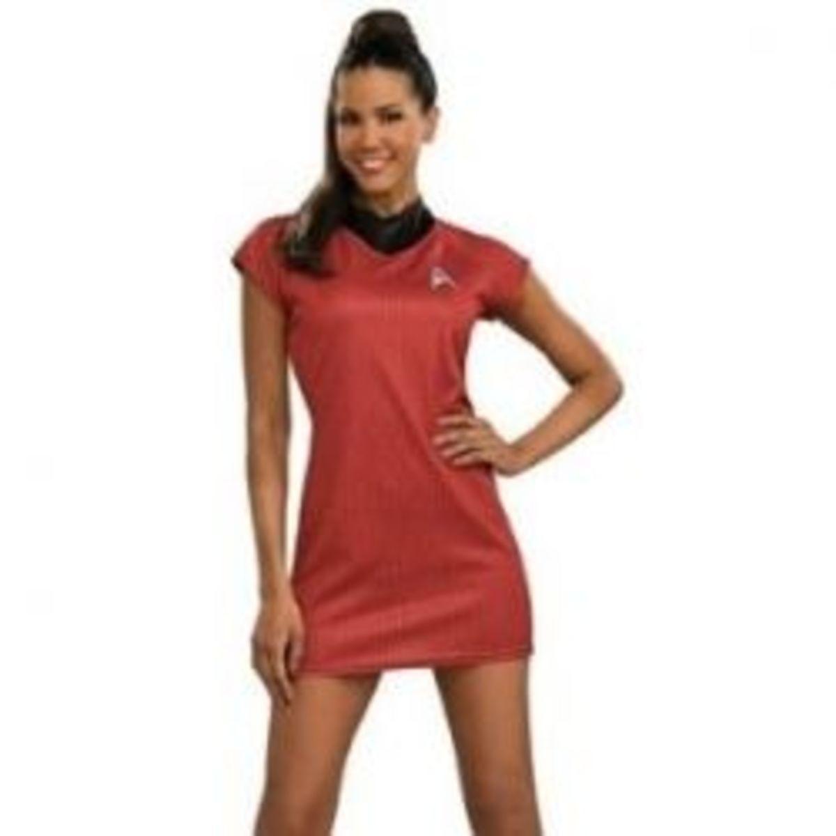 Sexy Uhura Costume from Star Trek