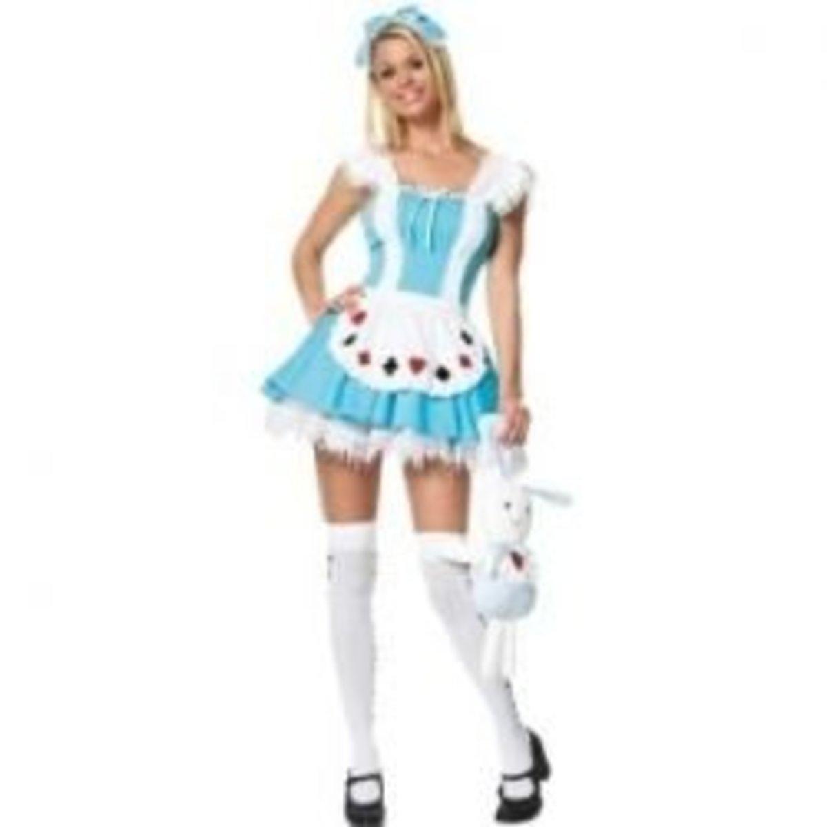 Alice in Wonderland Sexy Halloween Costume