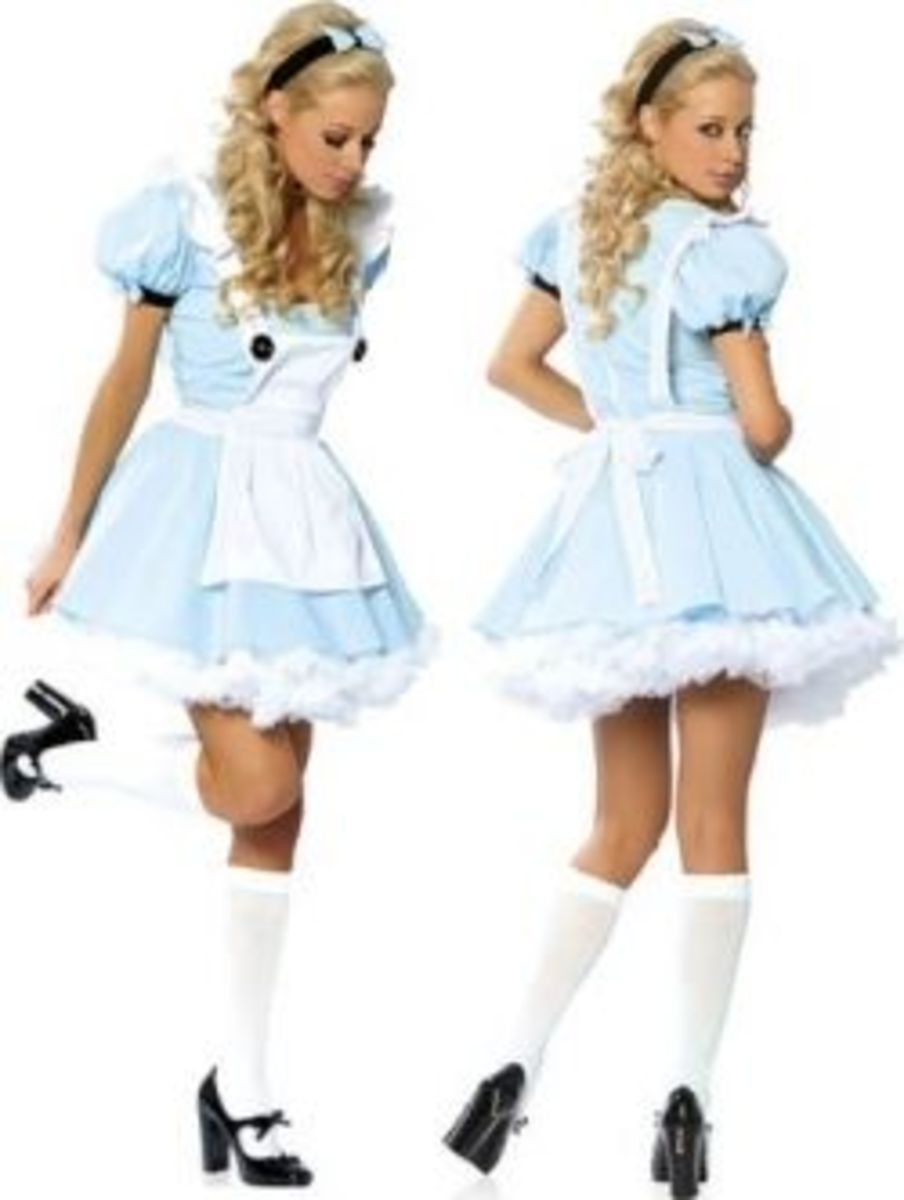 Light Blue Alice Costume