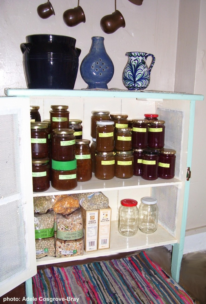Stored properly, unopened jams can be safely set aside for years.