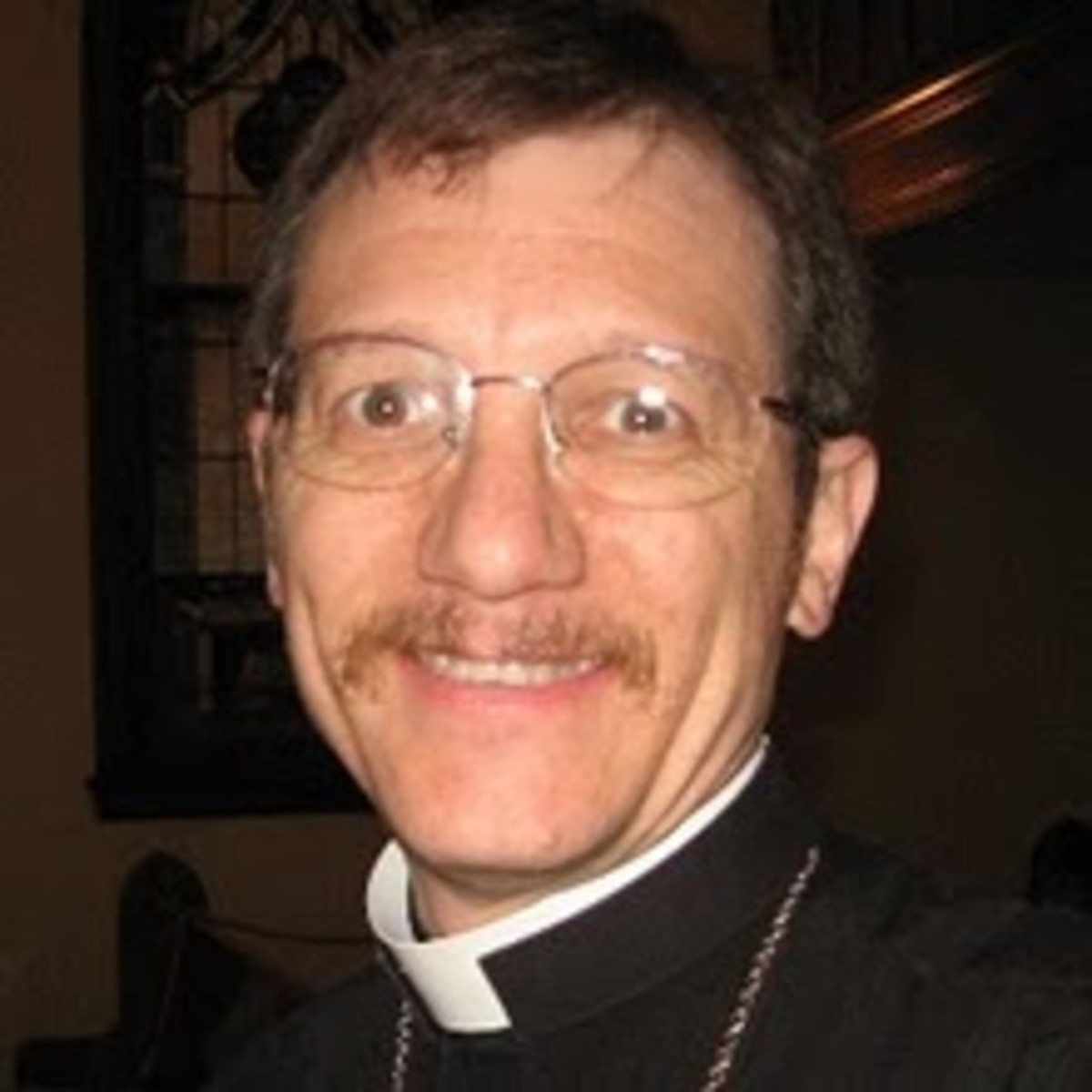 The Rev. Steven P. Tibbetts at Zion Evangelical Lutheran Church in Peoria, Illinois, has chosen to stay.