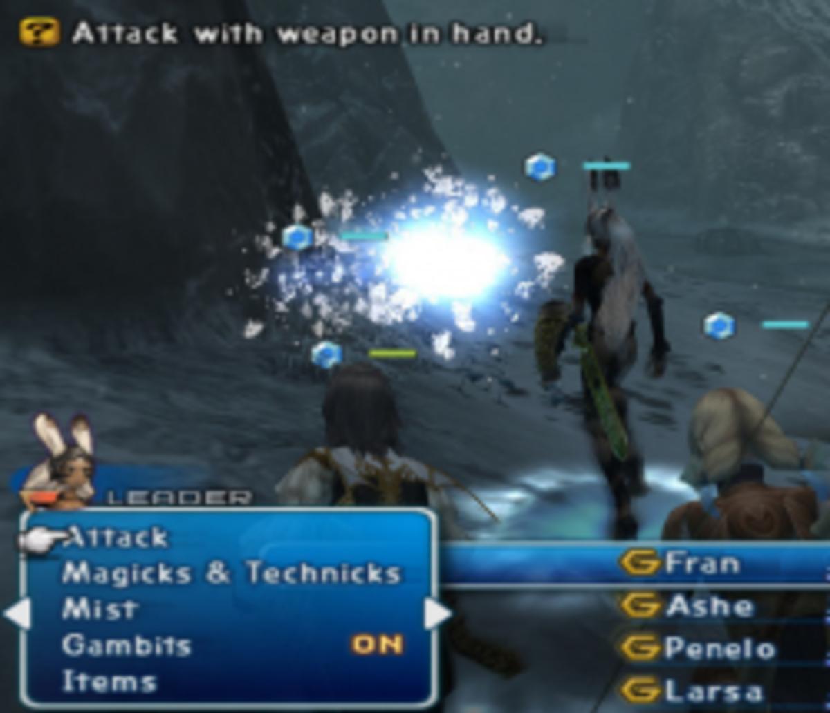 Fight Ice Elemental