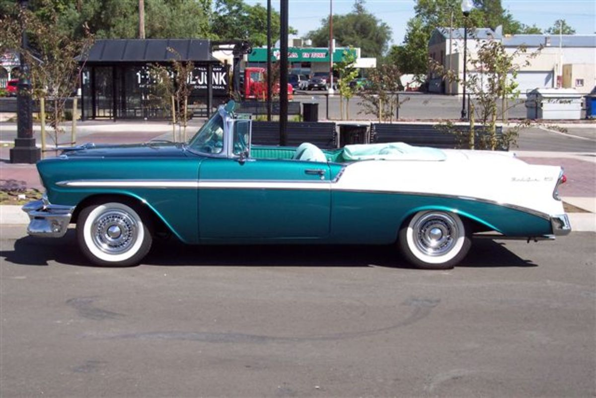 '56 Bel Air Convertible