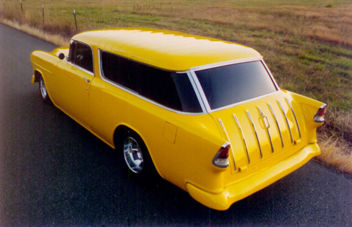 Classic Car Photos - Chevy Nomad Wagon