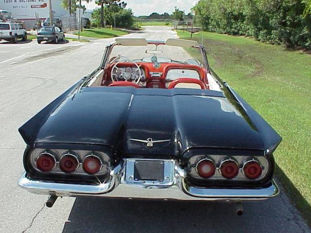 '60 Ford T-Bird Convertible
