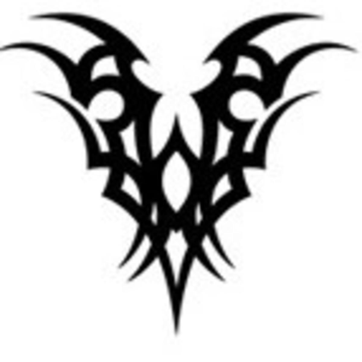Mini Phoenix - Tribal Tattoo
