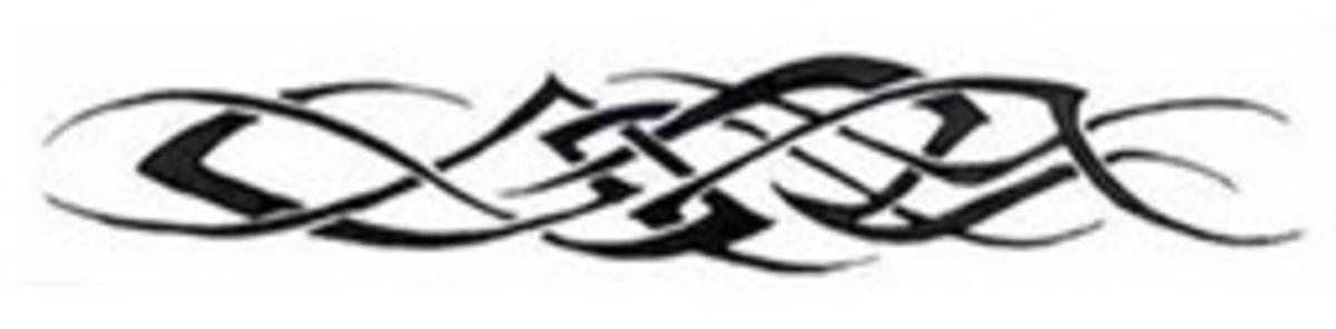 Horizontal Band - Tribal Tattoo