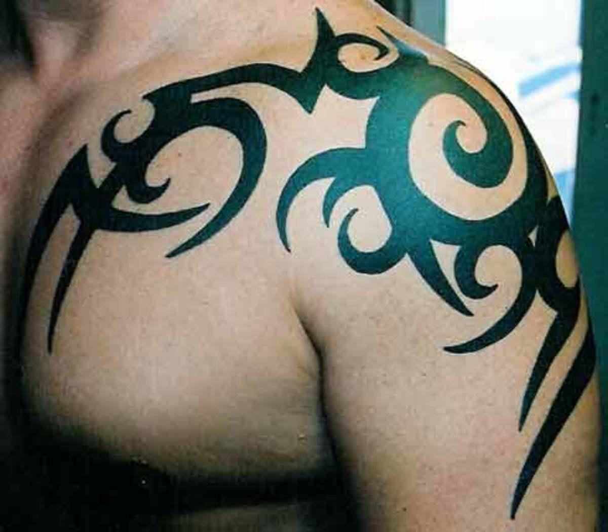 Tribal Shoulder Band - Tribal Tattoo