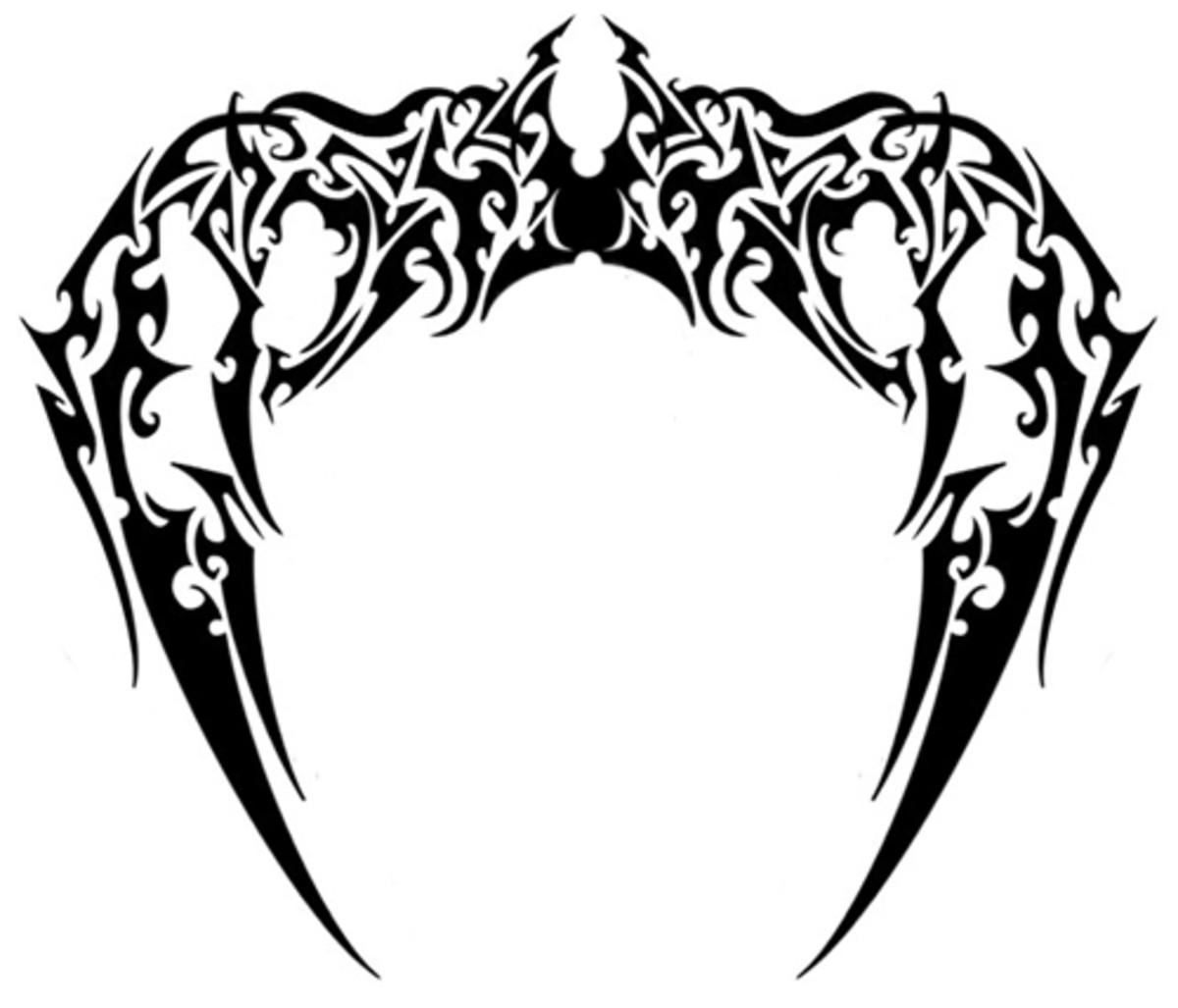 Gargoyle Wings - Tribal Tattoo