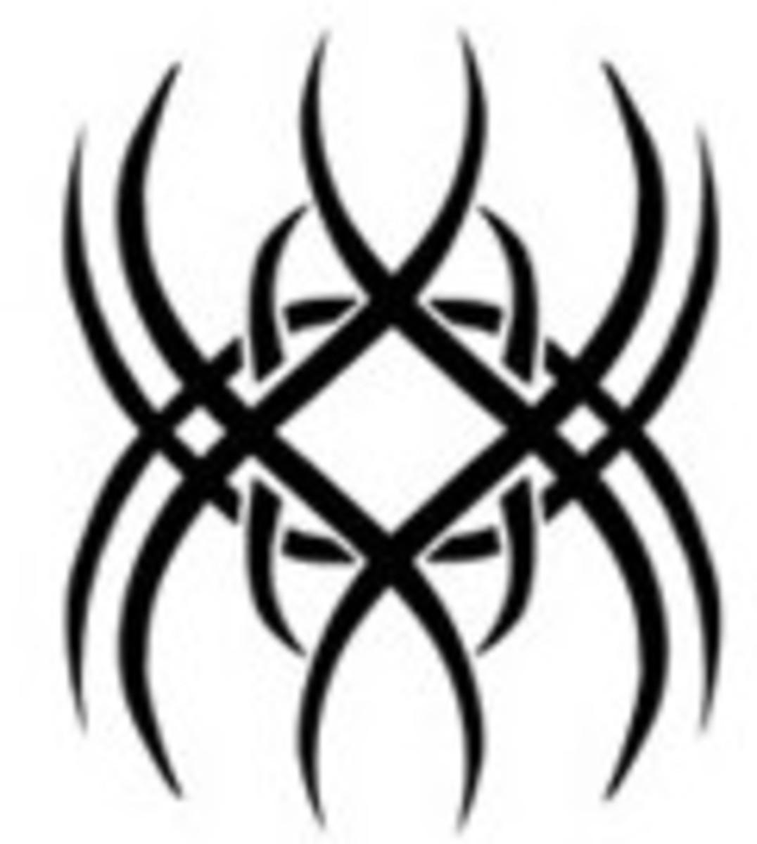 Spider - Tribal Tattoo