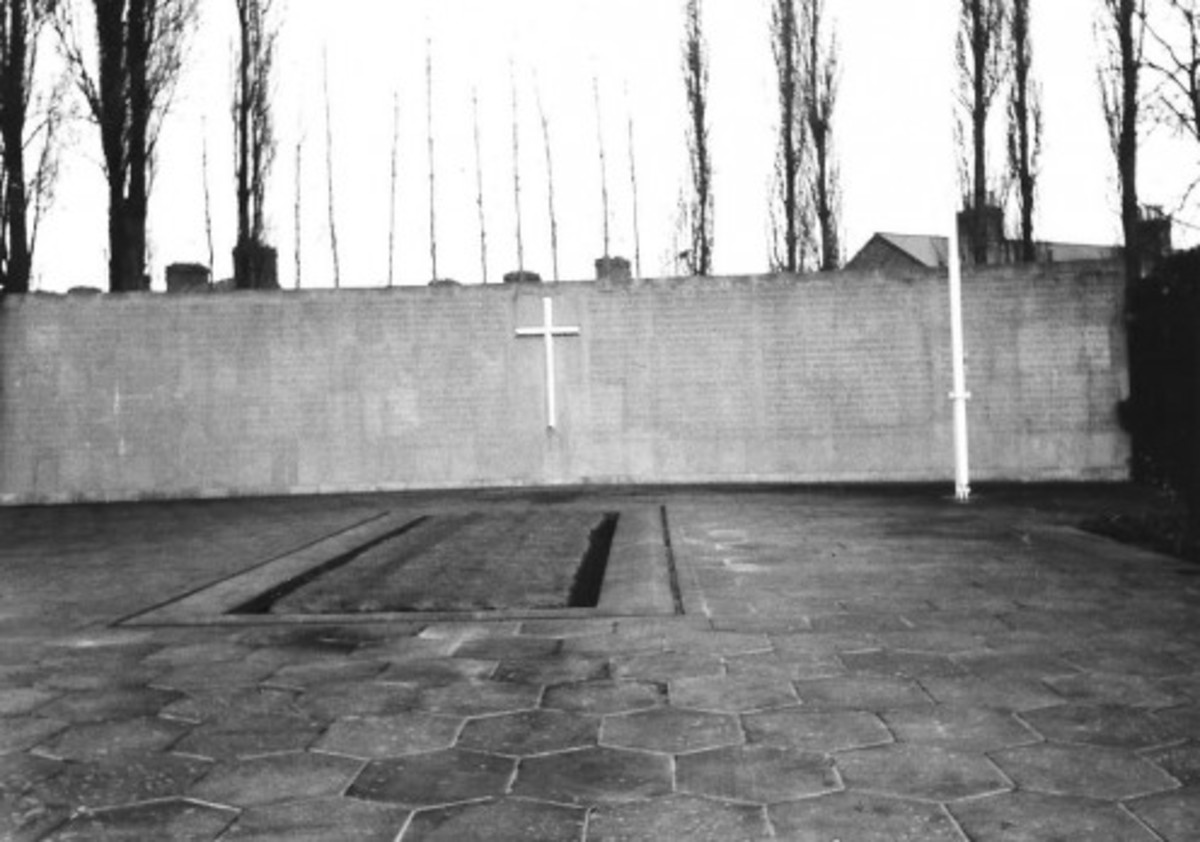 The grave of the 14 men who were executed after the 1916 Easter Rising in Dublin