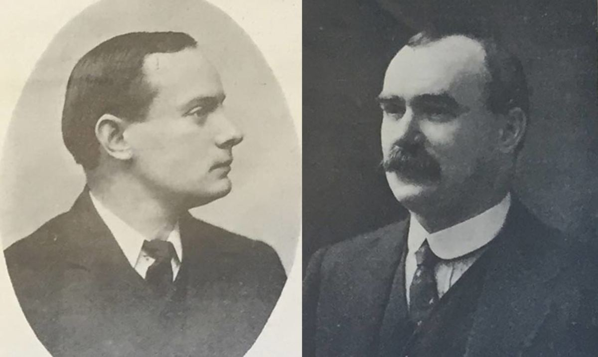 Patrick Pearse and James Connolly