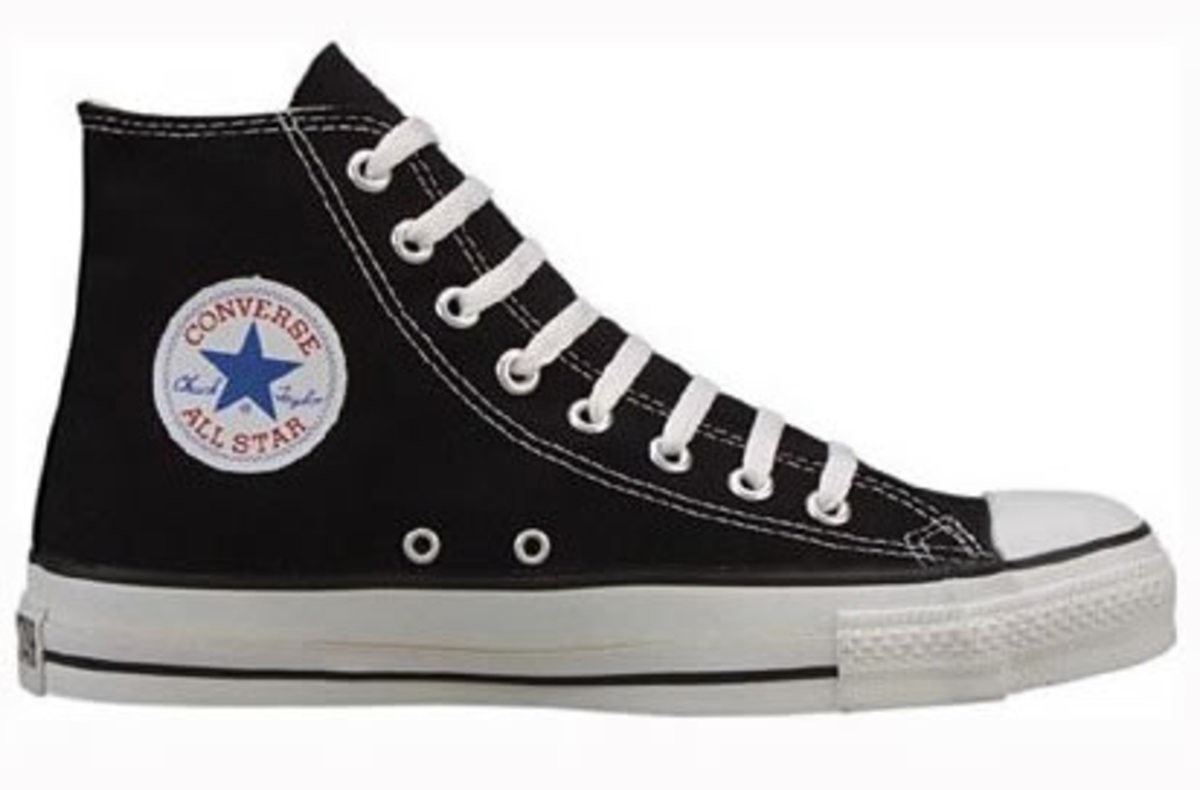 Chuck Taylors make a great canvas for any type of decoration.