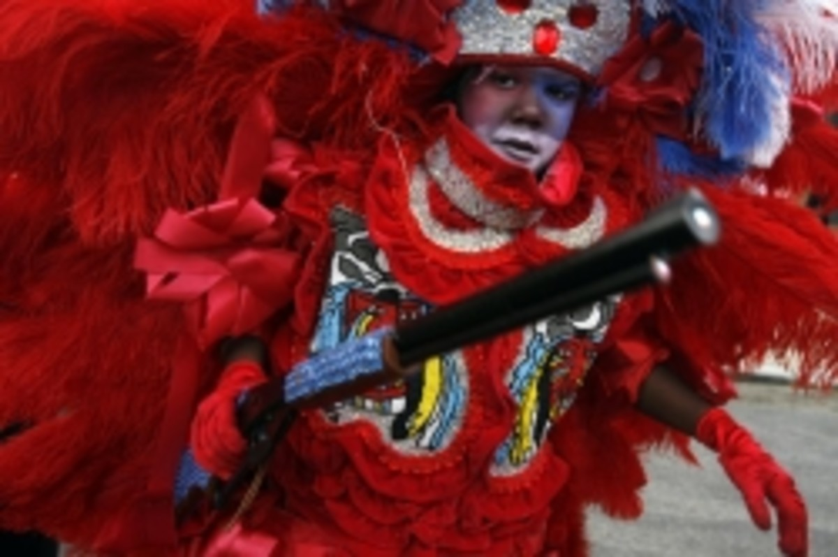 The Mardi Gras Indians of New Orleans