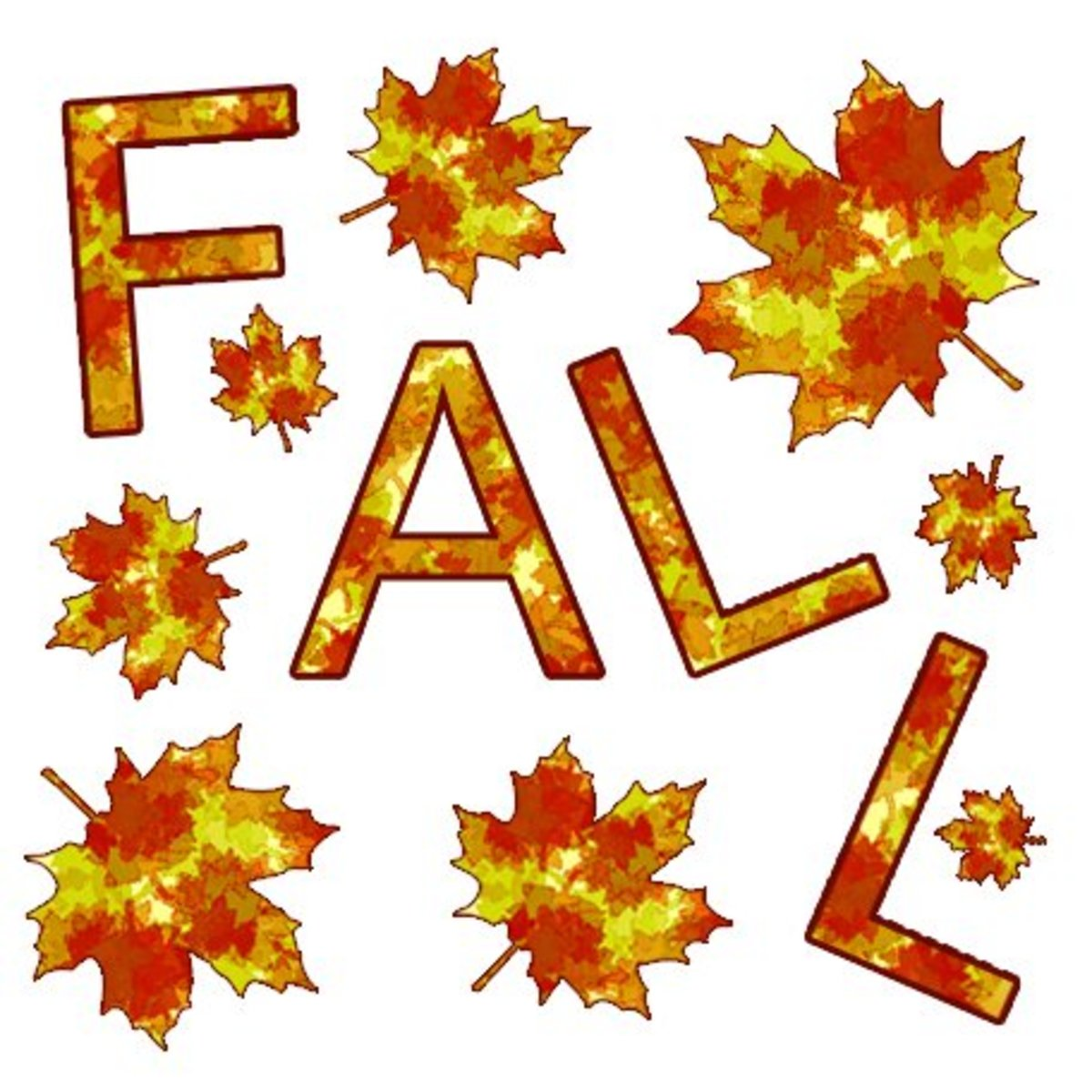 Free Fall Clip Art Images - Autumn Leaves