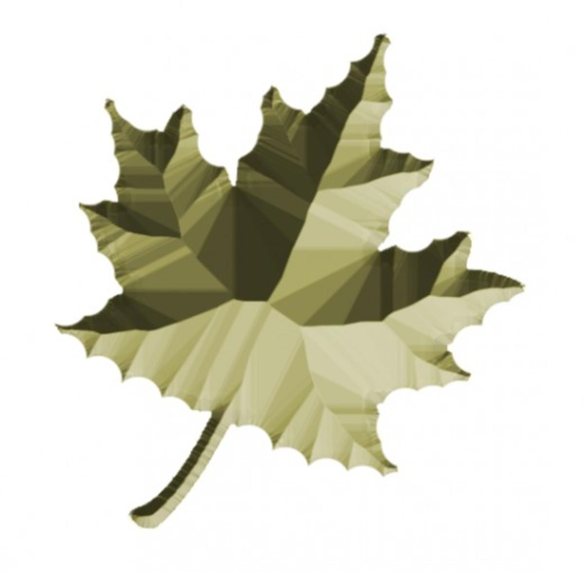 Textured foliage 1.