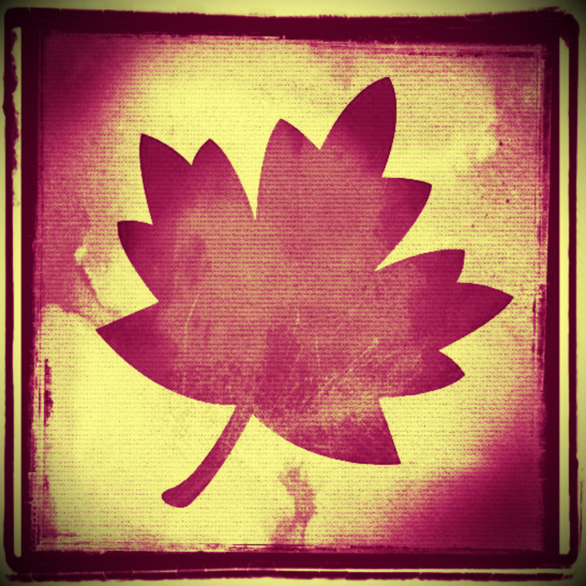 Grungy  leaf fall clip art 2.